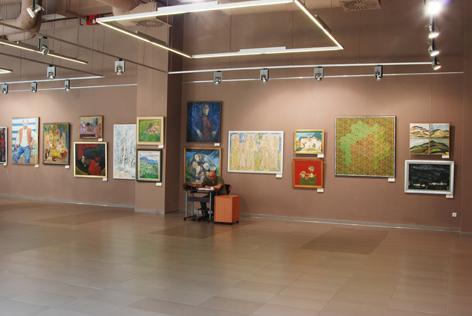 Expozitia Pictori băimăreni în colecţiile Muzeului Judeţean de Artă «Centrul Artistic Baia Mare»