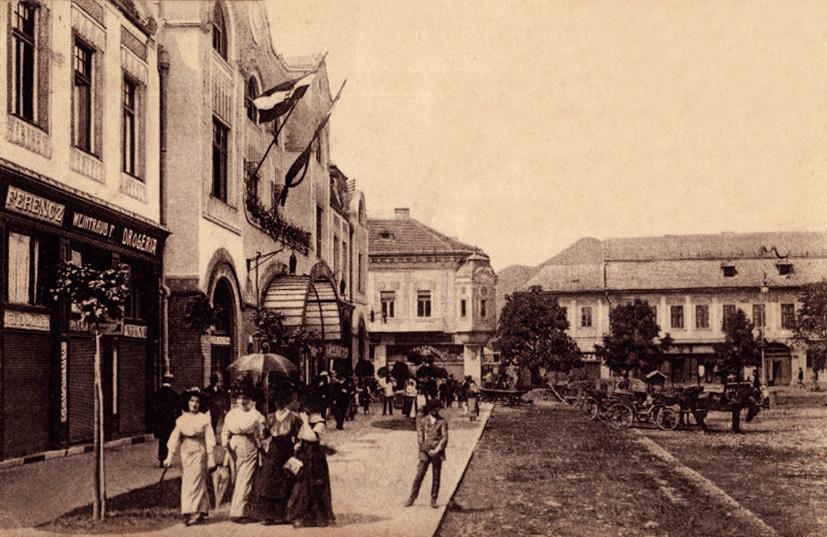foto 10 Baia Mare 1914 cca Hotel Minerul in Centrul Vechi