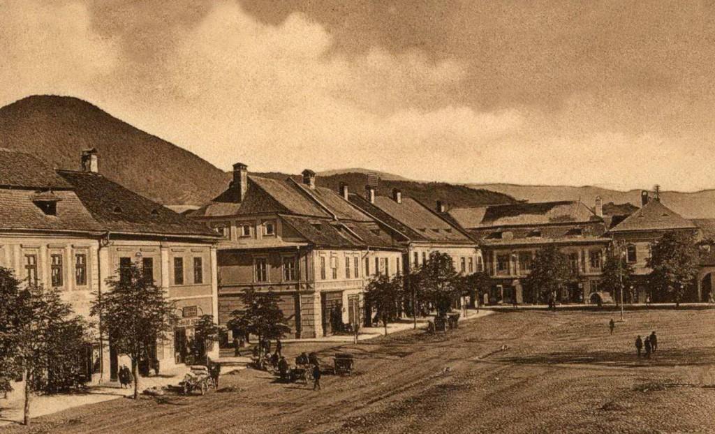 foto 11 Baia Mare anii 1920 Centrul Vechi spre Dealul Crucii