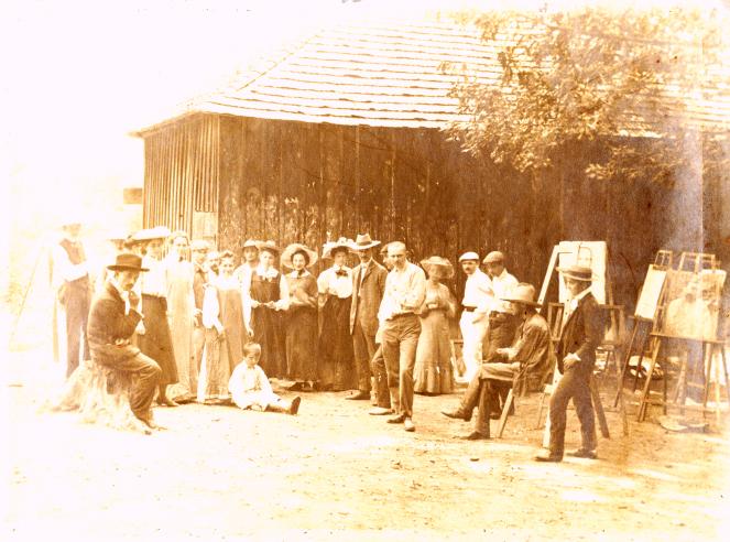 foto 9 Baia Mare 1905 Colonia atelier Hollosy