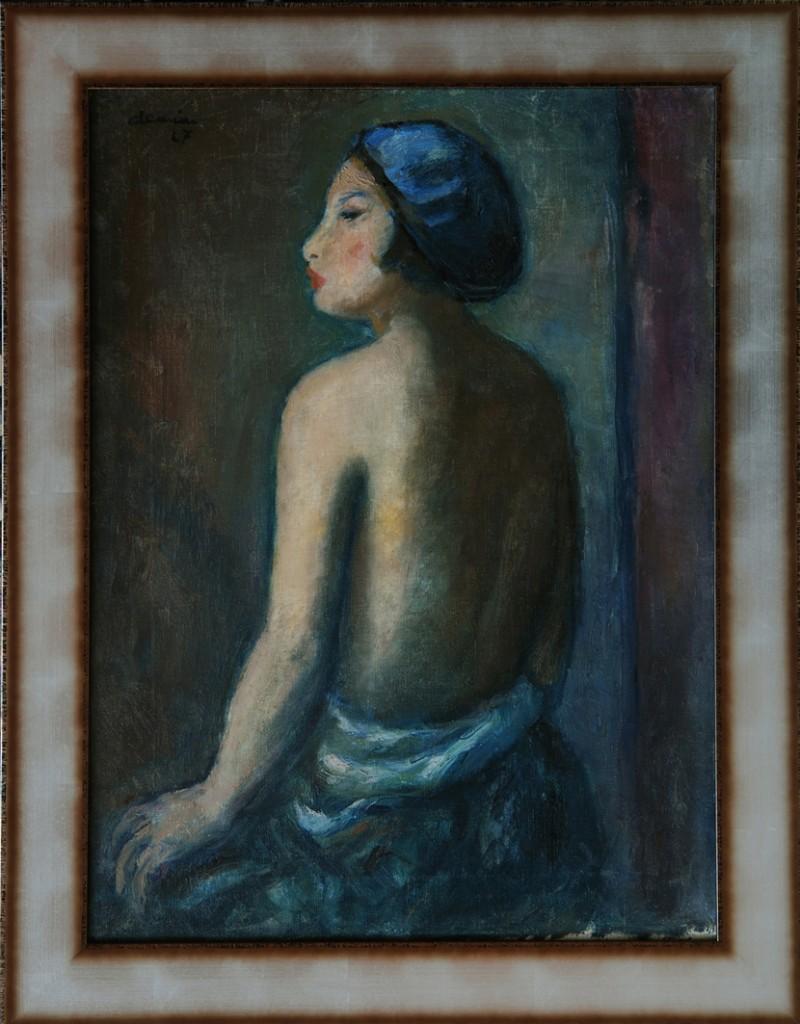 Anastase Demian, Soția artistului