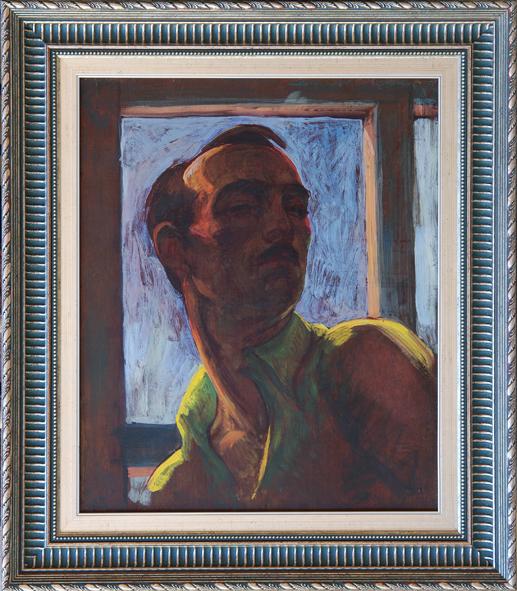 Kovats P Ferenc Autoportret