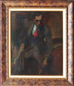 Elémer Göllner - Autoportret