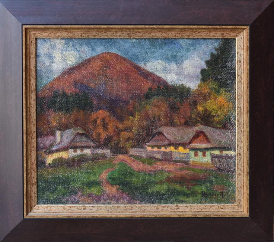 Kántor Andor (1901/1990) «Baia Mare - strada Ferăstrăului»