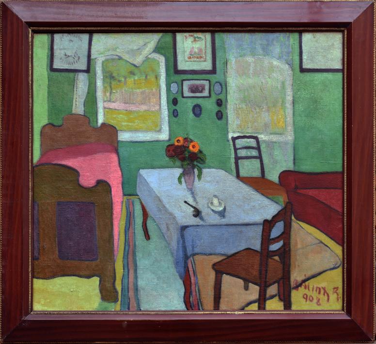 Rezső BÁLINT (1885-1945) - Interior (1908)