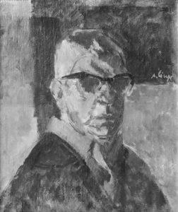 Aurel Ciupe - Autoportret
