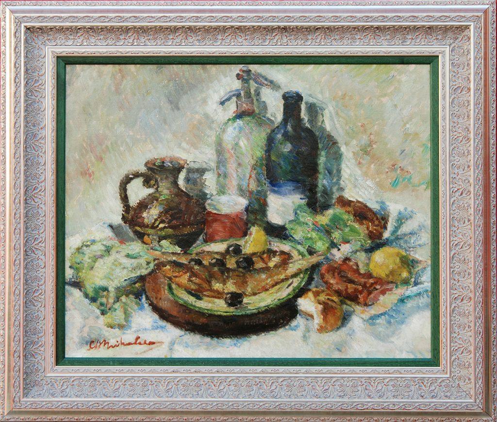 Constantin Mihalcea-Bragă - Masă de bucătărie