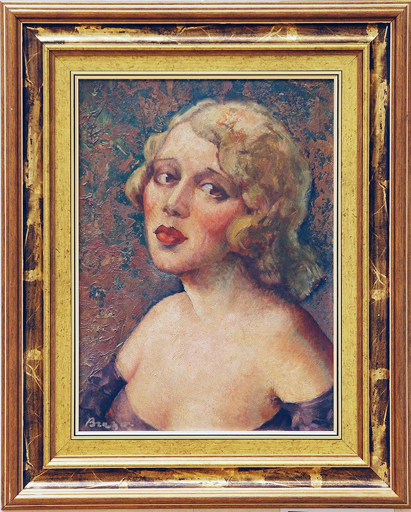 Nicolae Brana - Portret de doamnă