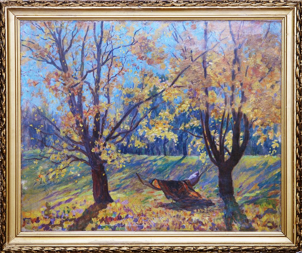 Samuel Mützner - Peisaj de toamnă